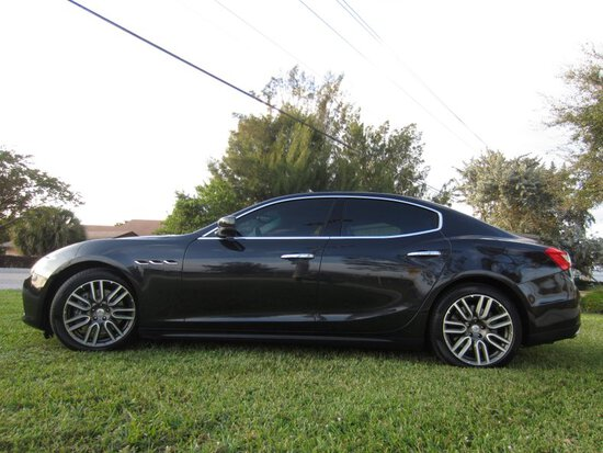2016 Maserati Ghibli S Four Door Sedan