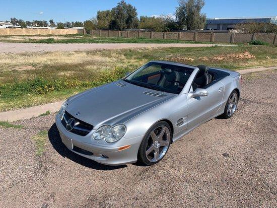2003 Mercedes-Benz SL500 Hardtop Roadster