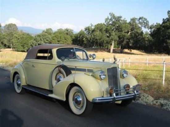 1939 Packard 120 Movie Car Convertible