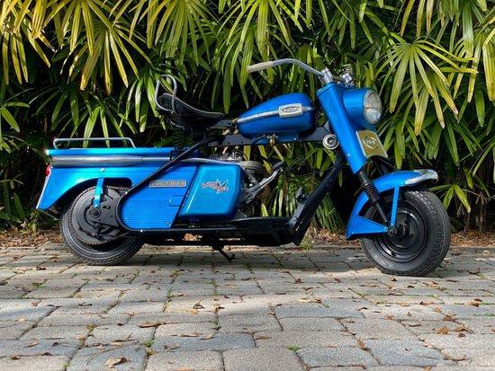 1960 Cushman Super Eagle Scooter