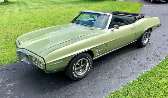 1969 Pontiac Firebird Convertible