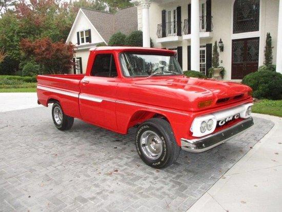 1965 GMC C10 Shortbed Pickup