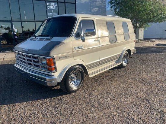 1988 Dodge D150 Conversion Van