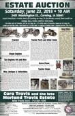 Cora Travis & the Late Marland Travis Estate
