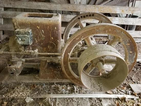 Fuller and Johnson 5hp Hit and Miss Engine