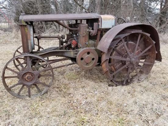 Minneapolis 17-30 Type B Gas Tractor