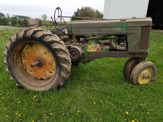1954 John Deere 60 Tractor