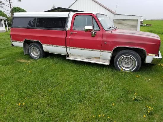 1987 Chevrolet Silverado 1/2 Ton Pickup