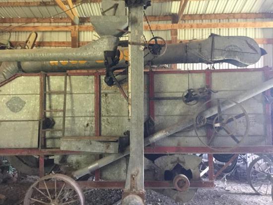 Woods Bros Threshing Machine Des Moines, Iowa