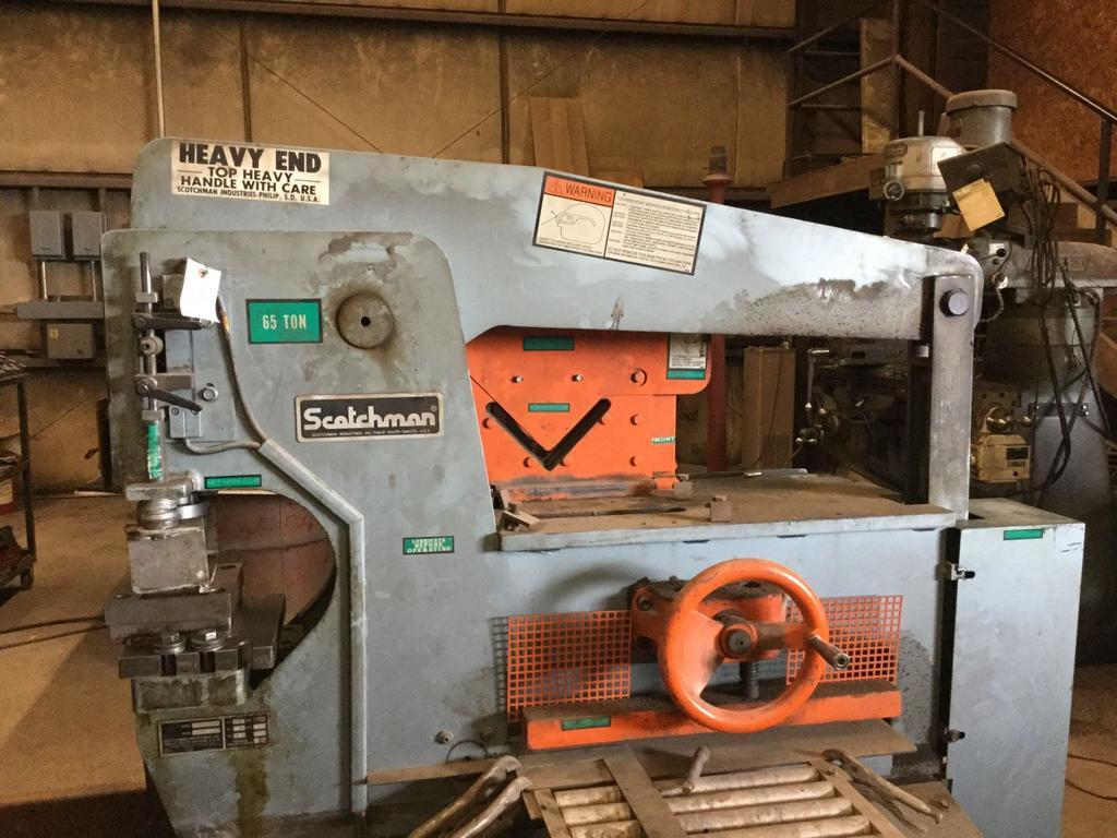 Scotchman 65 Ton Iron Worker