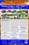 Fall Farm Equipment Consignment Auction