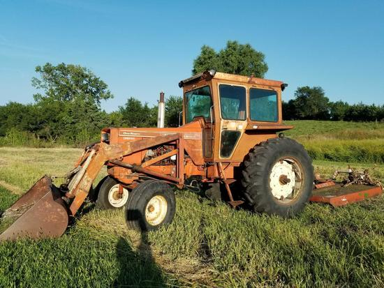 ALLIS CHALMERS 190 XT GAS TRACTOR