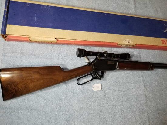 WINCHESTER 9422 .22 LEVER ACTION RIFLE WITH SCOPE
