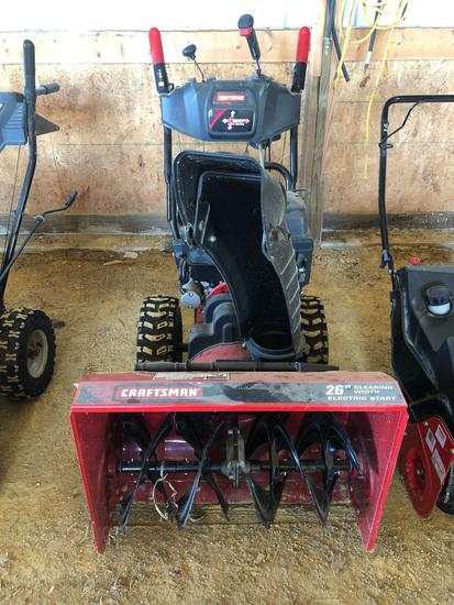 Craftsman 26? Snowblower