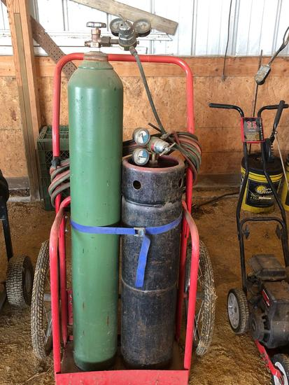 Oxygen Acetylene Torch Outfit