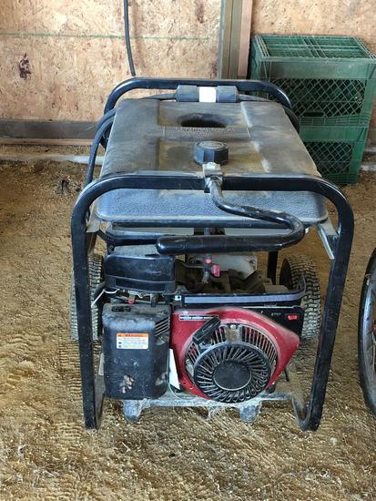 Black Max 6250 portable generator