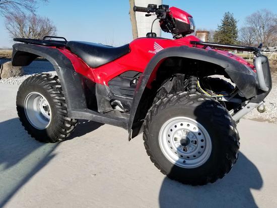 2009 HONDA FOREMAN 4X4 ES ATV