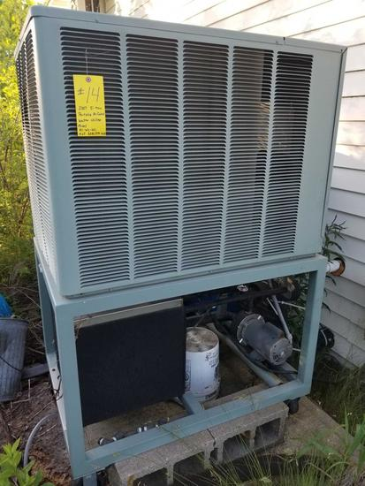 2007 5 TON PORTABLE AIR COOLED WATER CHILLER