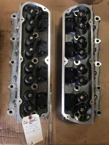 Pair of Heads-NEW Flotek Small Block Ford Heads