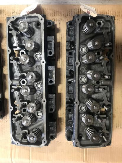 Pair of Heads-351 Cleveland 2V Open Chamber Heads,