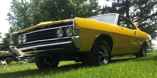 1969 Ford Fairlane Cobra