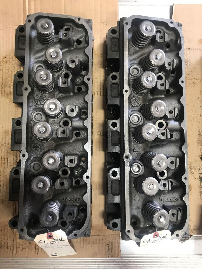 Pair of Heads-351C 4V closed chamber heads
