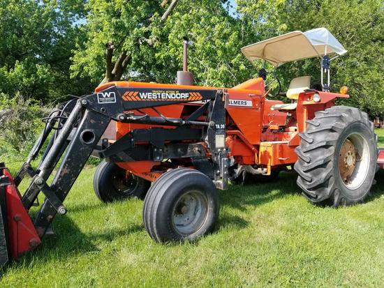 180 ALLIS CHALMERS TRACTOR