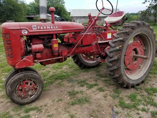 """1953 FARMALL SUPER """"C"""" TRACTOR"""