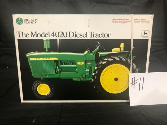 THE MODEL 4020 DIESEL TRACTOR PRECISION CLASSICS 1/16 SCALE NO 5638 NIB