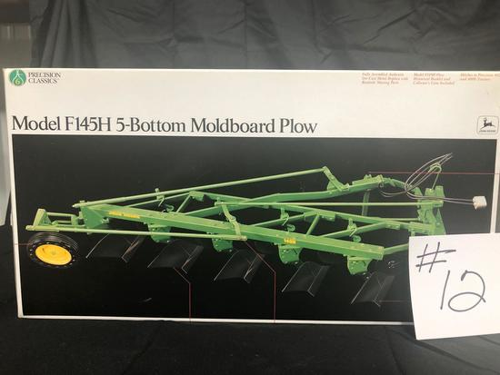 MODEL F145H 5-BOTTOM MOLDBOARD PLOW PRECISION CLASSICS 1/16 SCALE NO. 5763