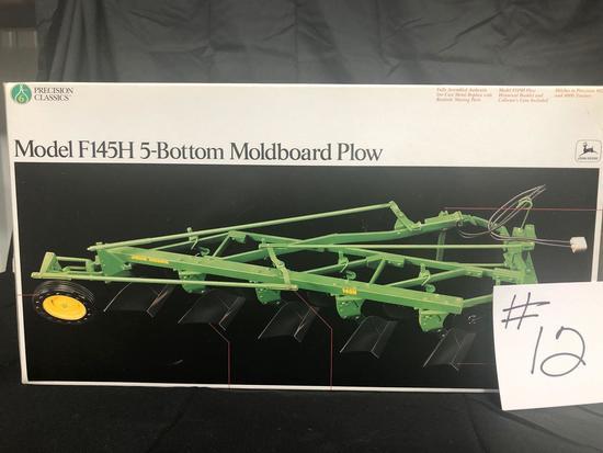 MODEL F145H 5-BOTTOM MOLDBOARD PLOW PRECISION CLASSICS 1/16 SCALE NO. 5763