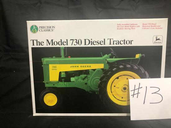 THE MODEL 730 DIESEL TRACTOR PRECISION CLASSICS 1/16 SCALE NO.5766 NIB