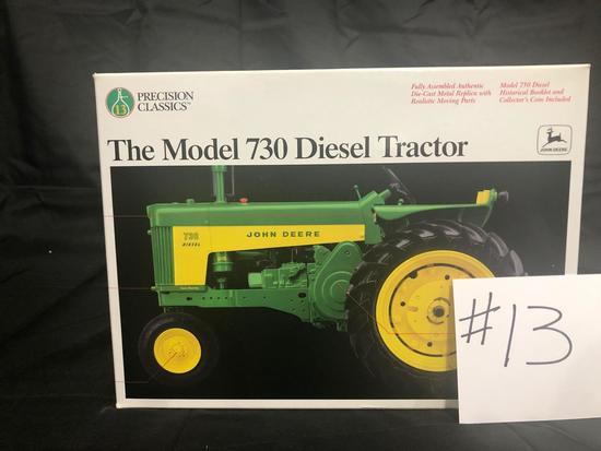 THE MODEL 730 DIESEL TRACTOR PRECISION CLASSICS 1/16 SCALE NO.5766 NIB