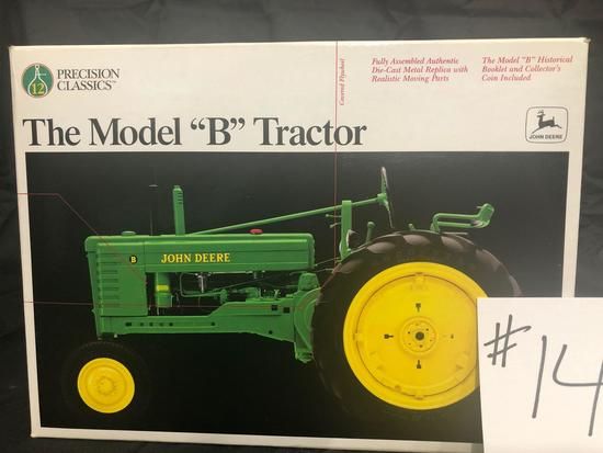 "THE MODEL ""B"" TRACTOR PRECISION CLASSICS 1/16 SCALE NO.5107 NIB"
