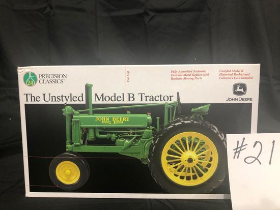 THE UNSTYLED MODEL B TRACTOR PRECISION CLASSICS 1/16 SCALE NO 15487 NIB
