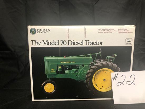 THE MODEL 70 DIESEL TRACTOR PRECISION CLASSICS 1/16 SCALE NO 5788 NIB