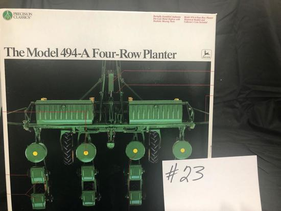 THE MODEL 494-A FOUR ROW PLANTER PRECISION CLASSICS 1/16 SCALE NO 5838 NIB