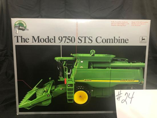 THE MODEL 9750 STS COMBINE PRECISION SERIES 2 1/16 SCALE NO15036 NIB