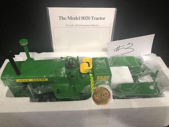THE MODEL 8020 TRACTOR PRECISION CLASSIC 1/16 SCALE NO. 15365 NIB