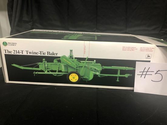 THE 214-T TWINE- TIE BALER PRECISION CLASSIC 1/16 SCALE NO. 5770 NIB