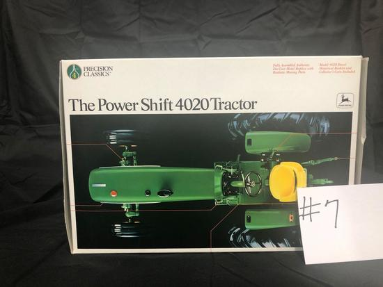 THE POWER SHIFT 4020 TRACTOR PRECISION CLASSIC 1/16 SCALE NO.5549 NIB