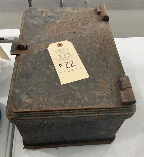 CAST IRON STRONG BOX