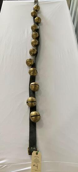 ANTIQUE SLEIGH BELLS