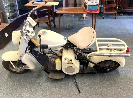 "1962 CUSHMAN ""THE HUSKY"" MOTOR SCOOTER"