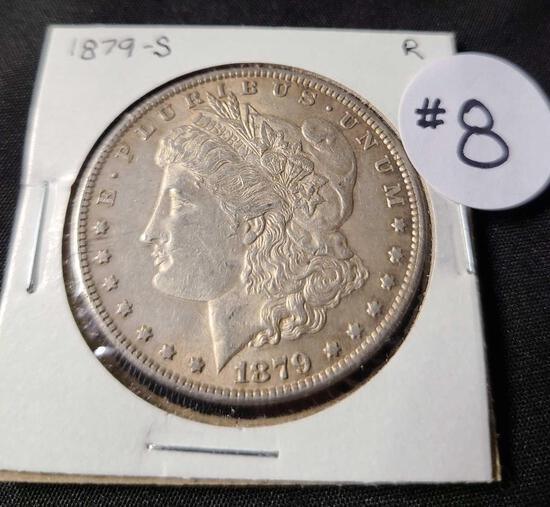 1879-S MORGAN SILVER DOLLAR
