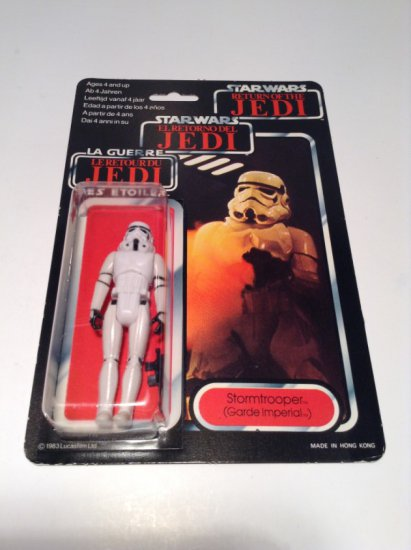 Star Wars 1983 Trilogo MOC Palitoy Stormtrooper