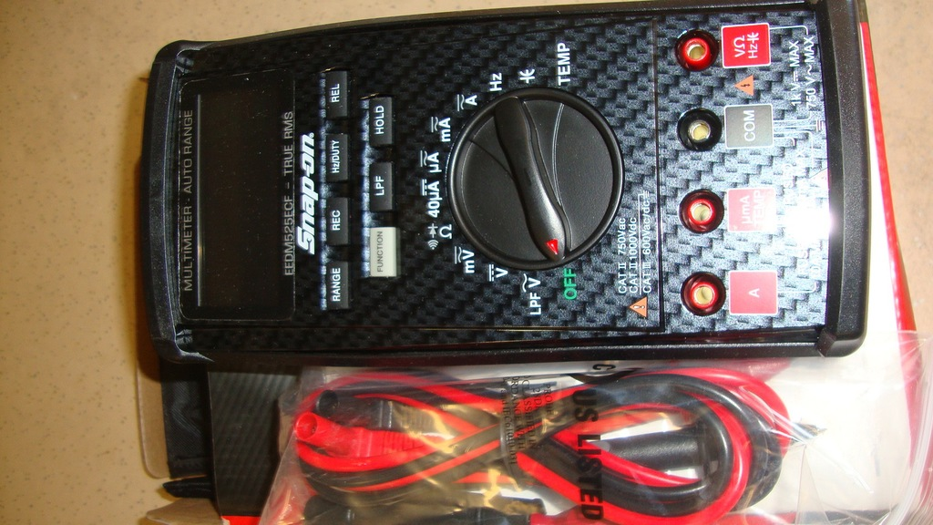 Snap On Multimeter : New snap on true rsm digital m auctions online proxibid