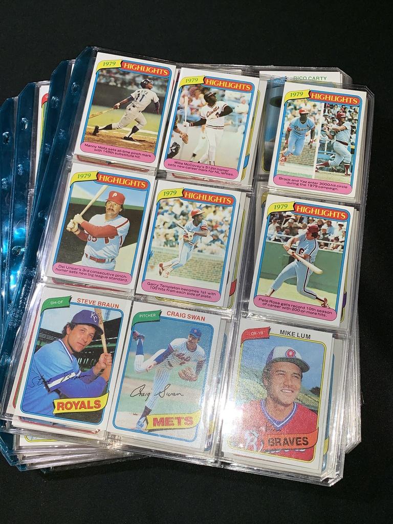 September Baseball Card Auction