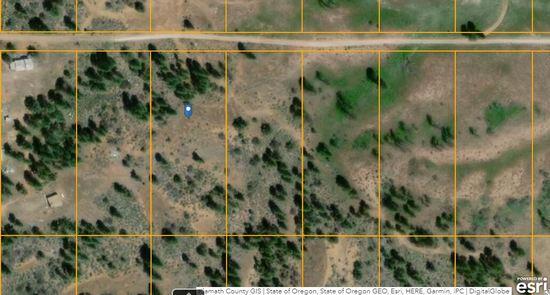 Bankruptcy Raw Land Klamath Forest Estates Oregon