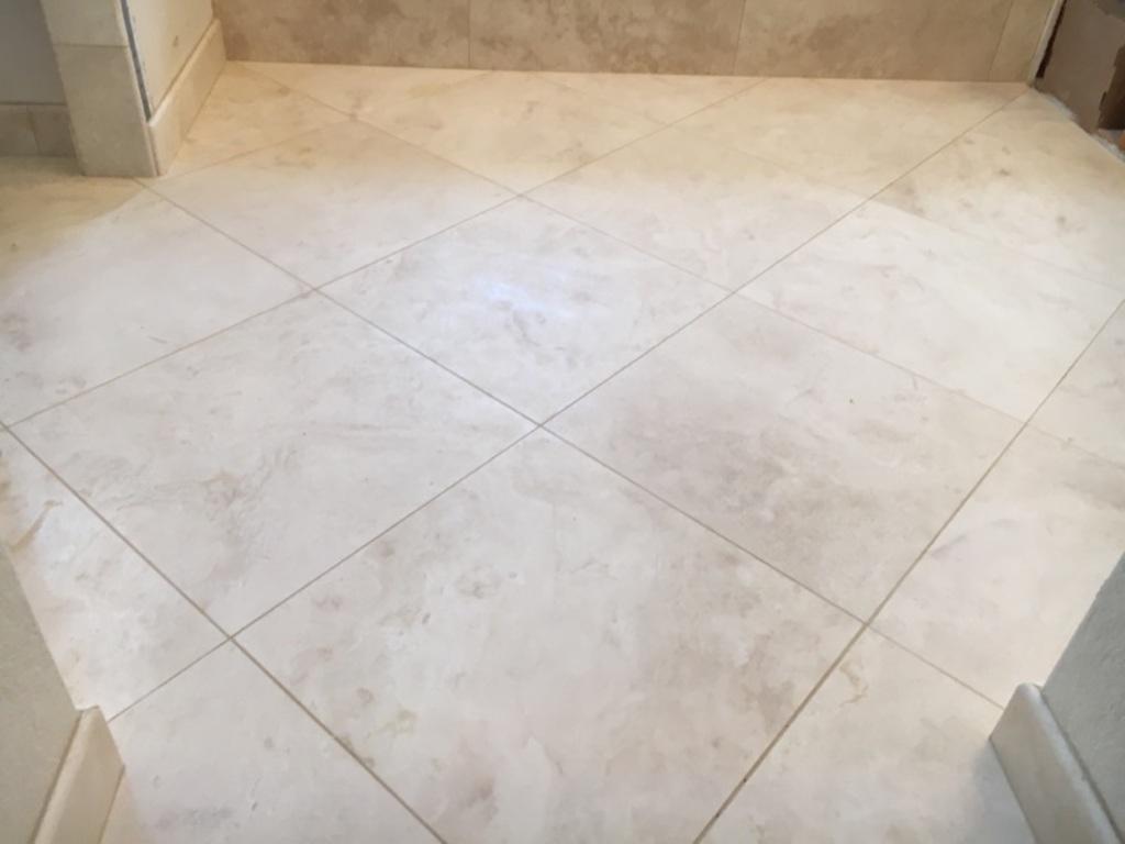 "Bianco 12""x12"" Marble Limestone Floor Tile"